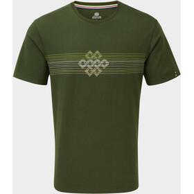 Sherpa Dharma Miehet Lyhythihainen paita , vihreä